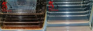 Oven cleaning South-East London  -  domestic oven cleaning services