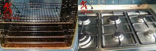 Oven cleaning South-West London  - Range cooker cleaning.