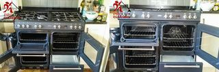 Oven cleaning Romford RM1 - oven racks