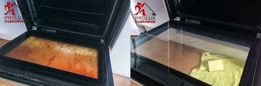 Clean your oven in a month's interval