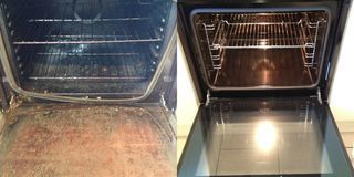 Oven cleaning Preston HA3 - oven racks