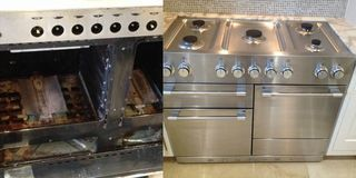 Oven cleaning East London  -